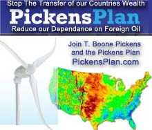Reduce our Dependency on Foreign Oil, Join T Boone Pickens and the Pickens Plan