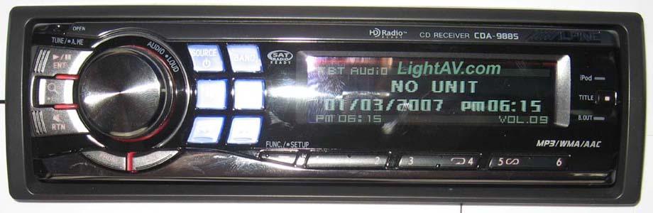 Alpine adorno diafragma marco radio diafragma radio marco cda-9884r cde-9874rr cde-9872r