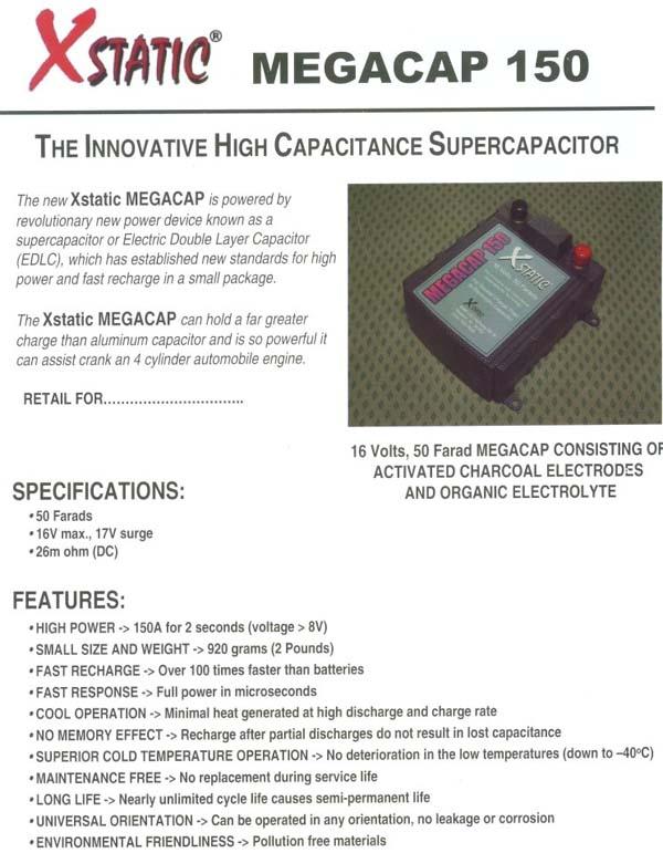 BatCap Capacitors / Batteries @LightAV com 877-390-1599 Batcap,8400