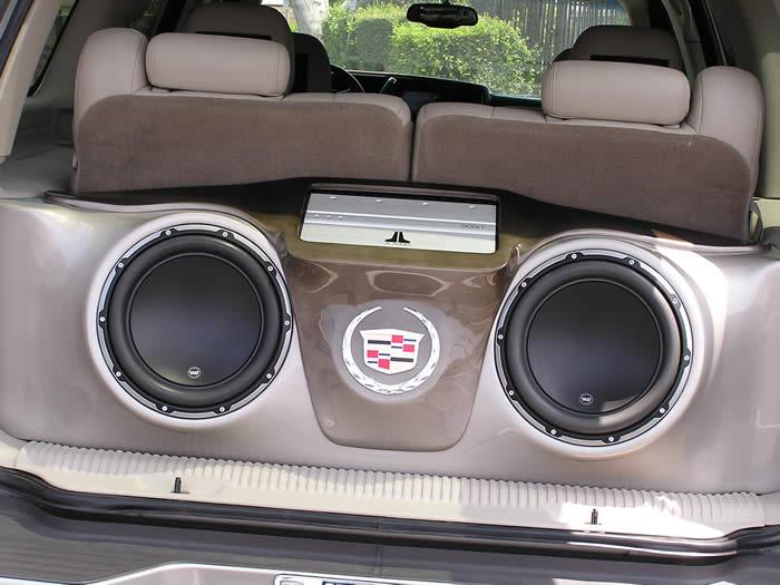 Bassforms Cadillac Escalade Custom Fiberglass Box Lightav