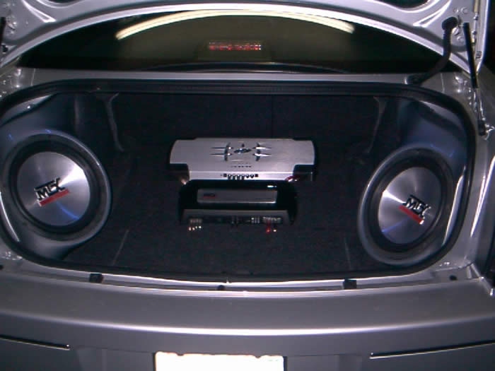 Chrysler 300 subwoofer boxes