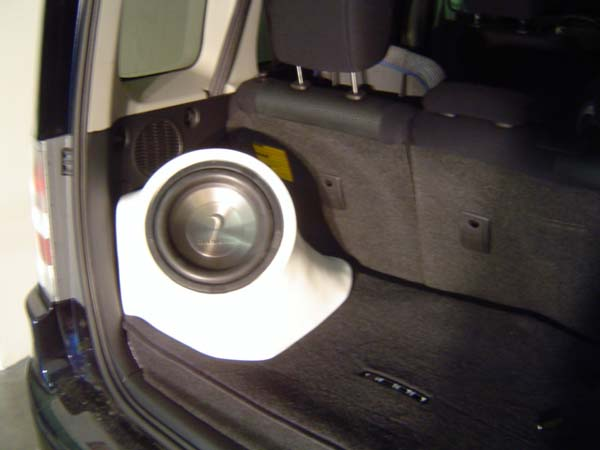 Bassforms Scion TC/XB Custom Fiberglass Boxes @LightAV.com ...