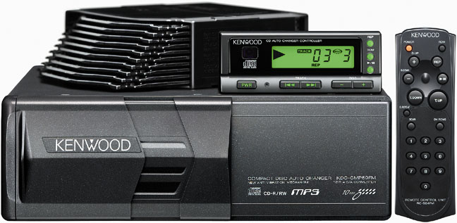 Car Audio Speakers  Kenwood 6 Disc Car Cd Changer