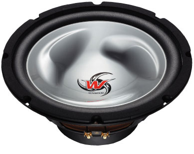 Kenwood dual voice coil subwoofer