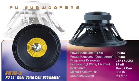 15inch subwoofers. Planet audio. -