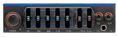 Power Acoustik PEQ Band Parametric Equalizer Crossover