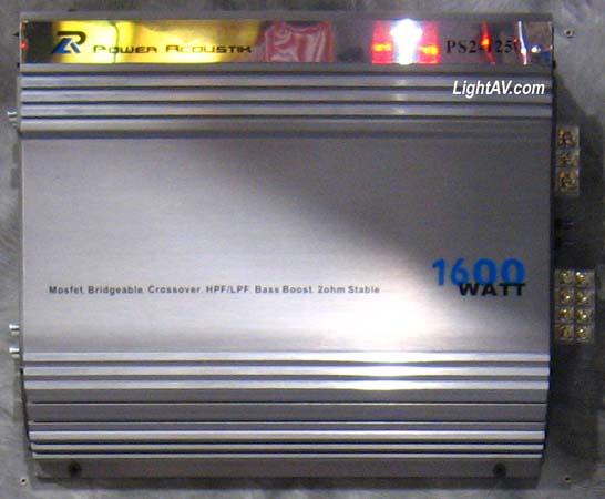 Power Acoustik Amplifiers @LightAV com 877-390-1599 power