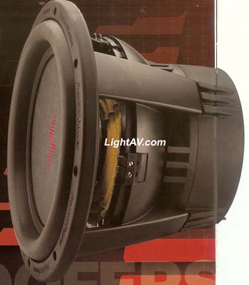 Precision Power PC1Subwoofer: Car Electronics