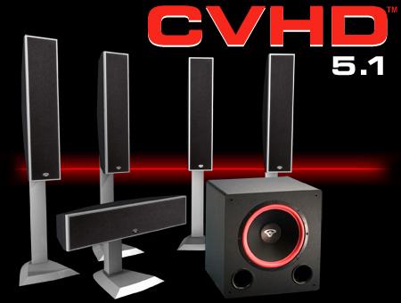 Cerwin Vega Home Speakers @LightAV.com 877-390-1599 cerwin
